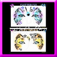 Flutter Fly Stencil Eyes - Child
