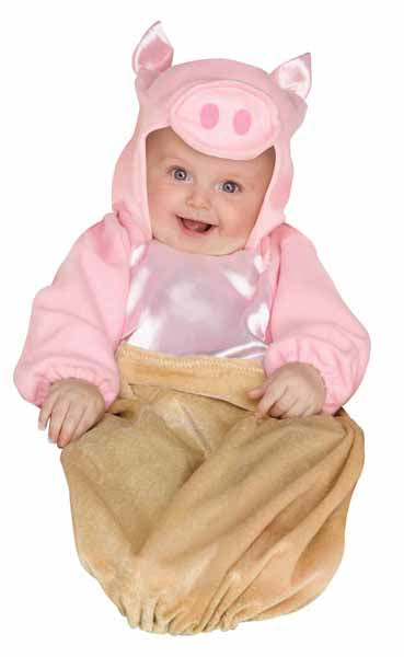 PIG IN A BLANKET INFANT BUNTING HALLOWEEN COSTUME  SIZE TO 9 MOS