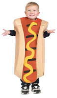 TODDLER HOT DOG HALLOWEEN COSTUME CHILD KID FITS 3T-4T