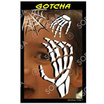 Gotcha Skeleton Hand Halloween - Profile Stencil