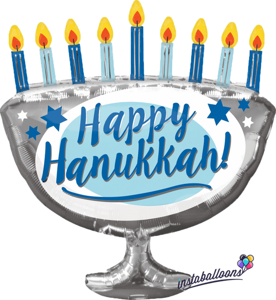 "29"" Happy Hanukkah Balloon"
