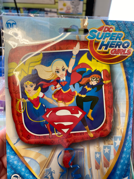 Superhero Girls Foil Balloon