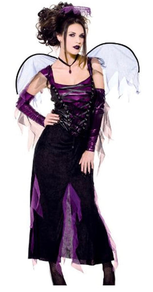 Paper magic fallen angel costume small adult