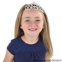 Pearl Drop Metal Tiara