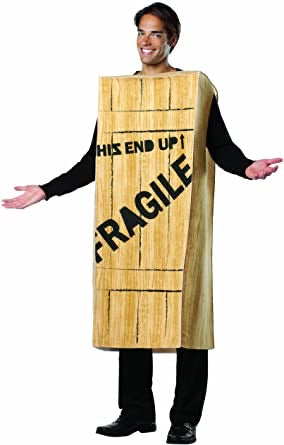 Rasta Imposta A Christmas Story Fragile Wood Box Adult Halloween Costume