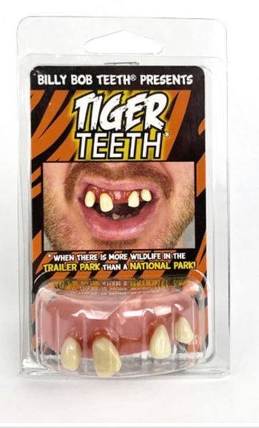 Billy Bob Tiger King Teeth Halloween Costume Accessory