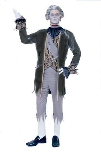 Paper magic Ghost King Adult Halloween Costume medium