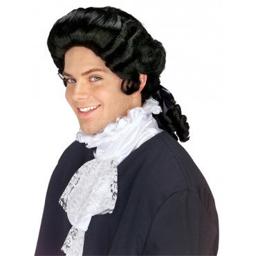 Rubies costume co. colonial man hair black