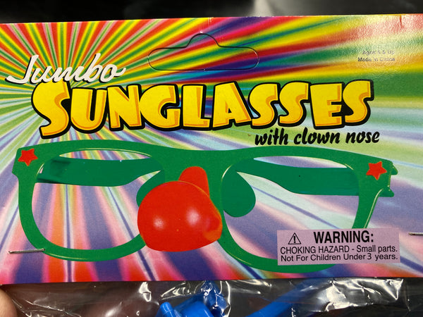 Jumbo Sunglasses with Noes