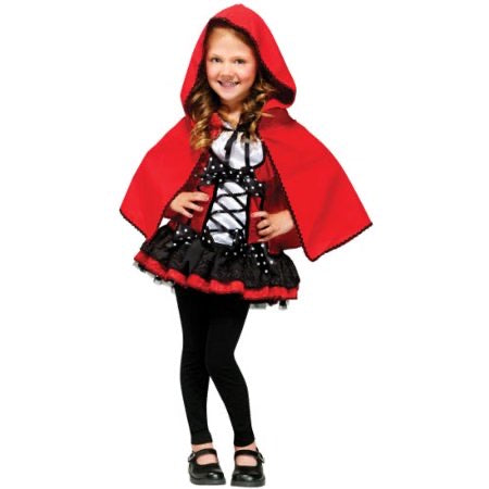 Sweet Red Riding Hood Halloween Costume Child Small