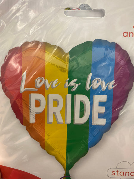 Love is Love Pride Balloon