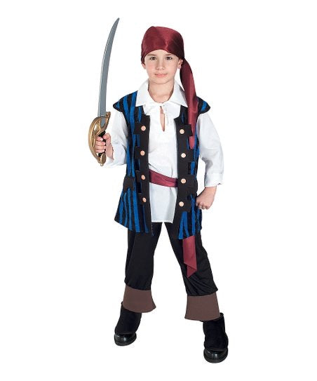 Kids Pirate Costume Size 8-10