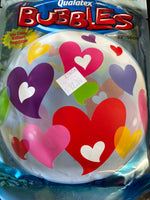 "22"" Bubble Heart Balloons"