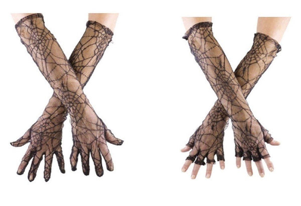 Spider Web Gloves