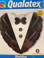 "18"" Tux Groom Balloon"