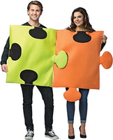 Puzzle Pieces Couples Halloween Costumes