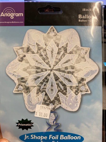 "18"" Snow Flake Balloon"