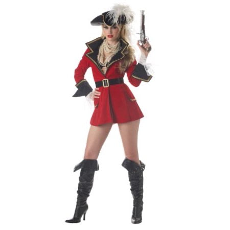 California costume women's captains Treasure medium