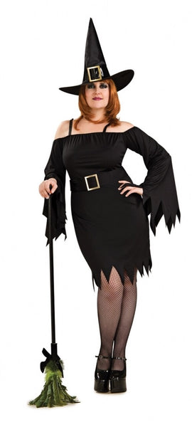 Secret wishes plus size wicked witch Halloween costume