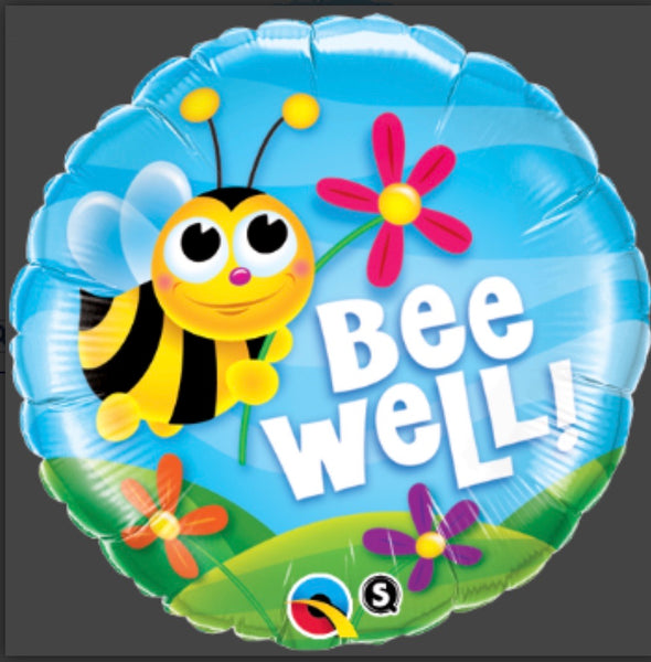 "18"" Foil Balloon Bee Well"