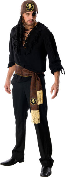 Rubies Costume co, men's swashbuckler pirate costume