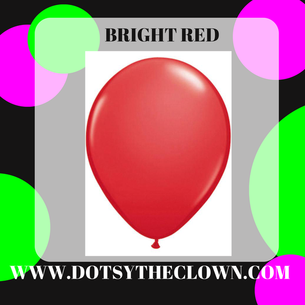 "11"" Red Latex Balloon"