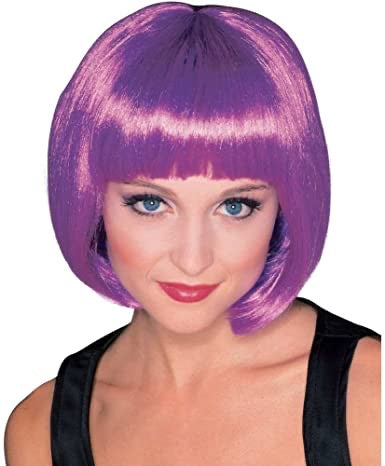 Rubies costume supermodel hair purple