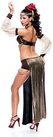 Paper Magic Women's French Kiss Arabian Seductress Halloween Costume adult medium