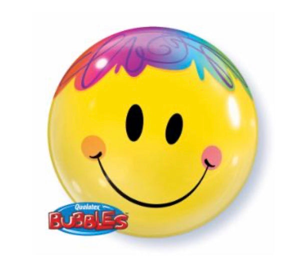Smiley Face Emoji Bubble Balloon