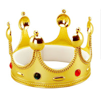 Gold Kings Crown Plastic