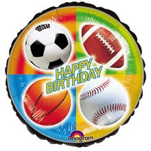 "18"" Sports Birthday VIP Balloon"