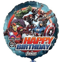 "18"" Happy Birthday Avengers Balloon"
