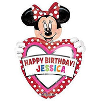 Minnie Mouse Customizable Foil Balloon