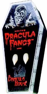 Dracula House Vampire Fangs Halloween Costume Accessory