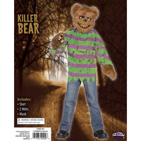 Killer Brown Bear Costume with Mask