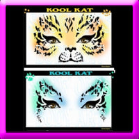 Kool Kat Stencil Eyes - Child