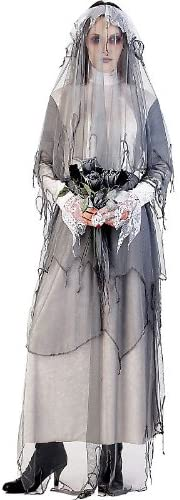 Paper Magic Lady Nighshade The Ghost Bride Adult Halloween Costume Size 12-14