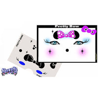 Pretty Bow Stencil Eyes