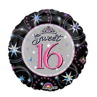 18in Sweet 16 Balloon