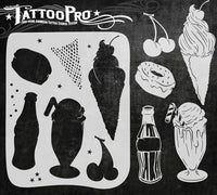 Wiser's Soda Shoppe Tattoo Pro Stencil