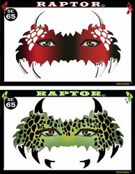 Raptor Stencil Eyes - Adult