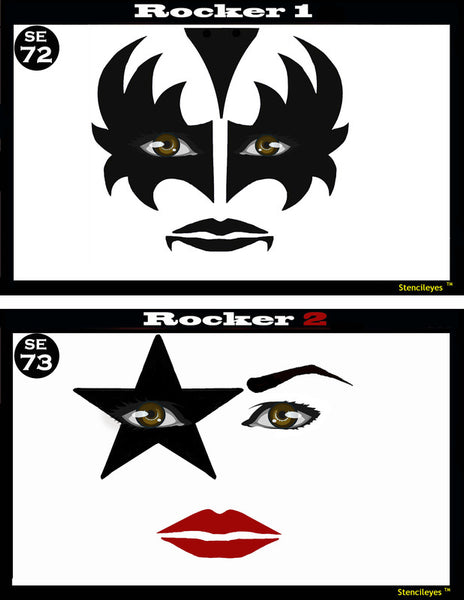 Rocker 1&2 Stencil Eyes - Child