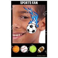 Sports Fan - Profile Stencil