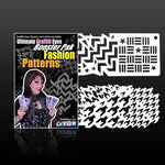 Ultimate Graffiti Eyes Stencil -  Fashion Patterns Booster Pack