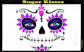 Sugar Kisses Stencil Eyes