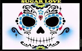 Sugar Love Stencil Eyes - Adult