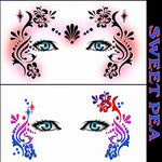 Sweet Pea Stencil Eyes - Child