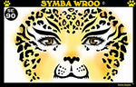 Symba Wroo Stencil Eyes - Adult
