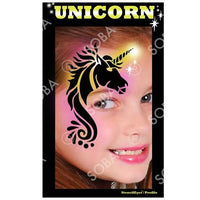 Unicorn - Profile Stencil