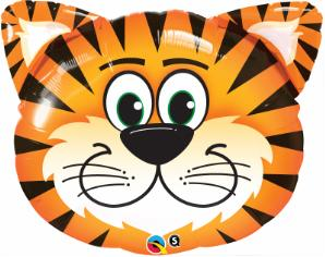 30 inch Tiger Face SuperShape Balloon